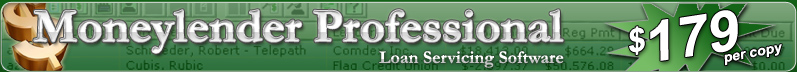 Moneylender Professional - Loan Servicing Software from TrailsWeb LLC